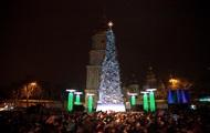 В центре Киева Новый год встретили 15 тысяч человек