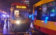 В Варшаве столкнулись трамваи, более десяти пострадавших