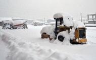 В Турции более 750 сел отрезаны от мира из-за снегопадов