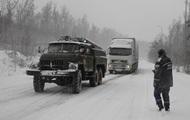 На шести дорогах Запорожской области ограничили движение