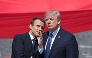 Трамп обсудил вывод войск из Сирии с Макроном