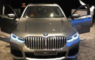 В Сети рассекретили внешность обновленной BMW 7