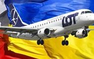Польская авиакомпания LOT отменяет рейсы из Быдгоща в Киев