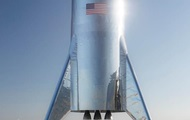 Маск показал реальное фото нового космического корабля Starship