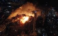 Пожар на химзаводе в Калуше потушили