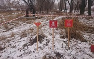 За год на Донбассе из-за мин погибли 25 бойцов