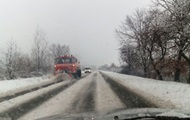 На Закарпатье транспортный коллапс из-за снегопада - СМИ