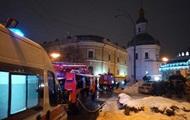 Пожар в Киево-Печерской лавре потушили