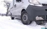 Снегопад на Закарпатье: села остались без автобусов и света