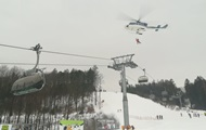 В Чехии застрял подъемник с 71 лыжником