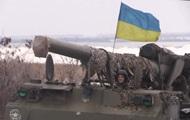 На Донбассе испытали артиллерийские установки Пион