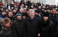 Порошенко назвав чоловіка провокатором за питання про корупцію російською
