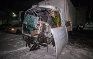 Под Киевом столкнулись два грузовика, есть жертвы