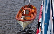 В Черном море нашли тело мужчины в шлюпке