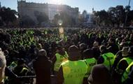 В Испании тысячи таксистов вышли на протесты