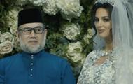 Король Малайзии расходится с Мисс Москва после отречения от престола