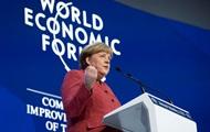 Меркель пошла против Трампа в Давосе - СМИ