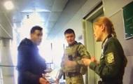 В аэропорту Борисполь иностранец напал на пограничника