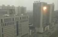 В Китае произошла серия взрывов в торговом центре