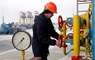 Украина сократила запасы газа на треть