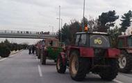 В Греции фермеры перекрыли национальную трассу