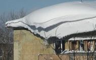 Под Харьковом рухнула крыша жилого дома из-за снега