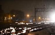В США из-за сильных морозов поджигают рельсы