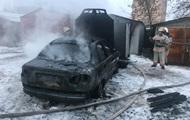 Во Львовской области в сгоревшем авто обнаружили труп мужчины