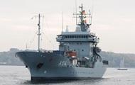Военный корабль Германии войдет в Черное море