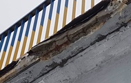 В Киеве появился новый аварийный мост