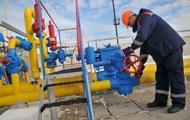 Газовые хранилища Украины заполнены на 35%