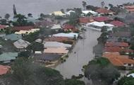 В Австралии город затопило водой с крокодилами