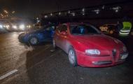 В Киеве пьяный водитель устроил массовое ДТП и сбежал