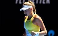 Ястремская претендует на звание Прорыв месяца по версии WTA