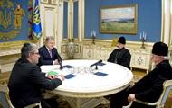 Порошенко встретился с представителями УПЦ в США