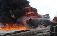 В Полтавской области сгорела автоцистерна