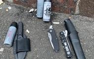 Столкновения в Киеве: у задержанных активистов изъяли два пистолета