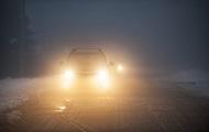 Украинцев предупредили о плохой видимости на дорогах
