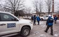 ОБСЕ заявила о боевых стрельбах сепаратистов на Донбассе