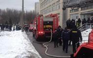 В Киеве эвакуировали университет из-за пожара