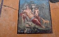 В Помпеях нашли 1940-летнюю фреску Нарцисса