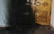 В Кривом Роге подожгли дверь храма