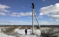 На Луганщине восстановили электроснабжение после обстрела