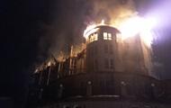 В Львовской области на горнолыжном курорте сгорел отель