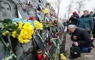 В Україні вшановують пам ять героїв Небесної сотні