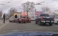 У Миколаєві дорожній конфлікт переріс у бійку