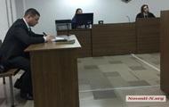 У Миколаєві підсудний порізав собі вени