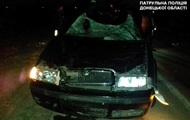 Под Мариуполем автомобиль на полном ходу врезался в коня