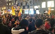 В Каталонии прошел массовый митинг протеста