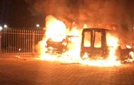 В Киеве известному журналисту сожгли авто